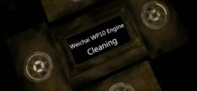 Weichai WP10 Engine Maintenance - Cleaning