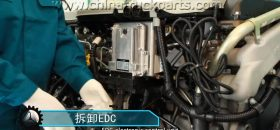 Sinotruk Engine Maintenance - How to Assemble and Disassemble EDC Electronic, Control Unit and Bracket