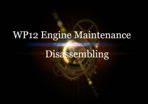 Weichai WP12 Engine Maintenance Disassembling