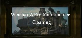 Weichai WP12 Diesel Engine Maintenance Cleaning
